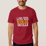 Mad Ninja Skills Funny T-shirt for Gamers