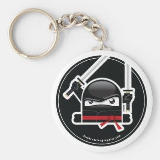 Mad Ninja Skills keychain