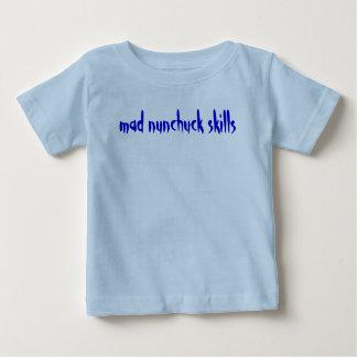 mad nunchuck skills tee shirt