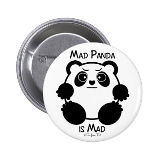 Mad Panda 6 Cm Round Badge