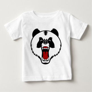 mad panda bear.png baby T-Shirt