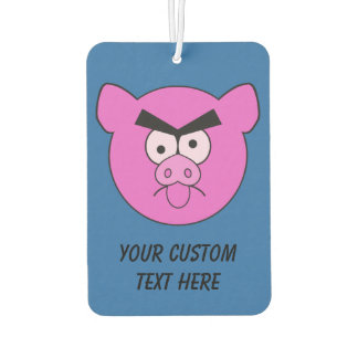Mad Pig custom car air freshner Car Air Freshener