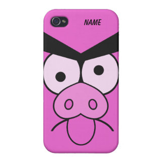 Mad Pig custom cases Case For iPhone 4