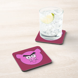 Mad Pig custom coasters