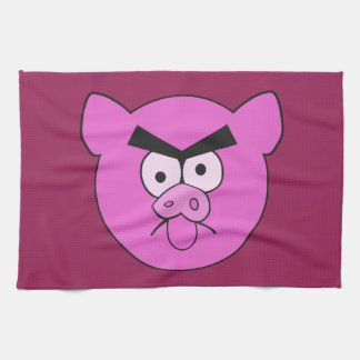 Mad Pig custom hand towel