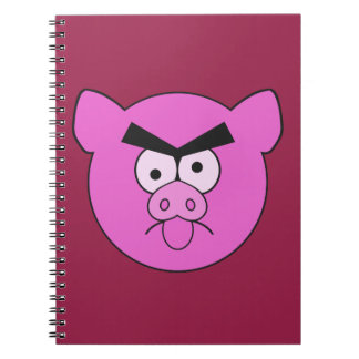 Mad Pig custom notebook