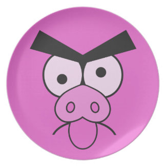 Mad Pig plate