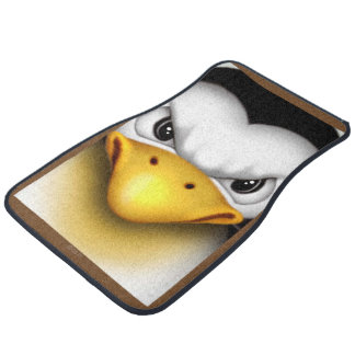 MAD PINGOUIN 2 Cartoon Car Mats (Front) (set of 2)