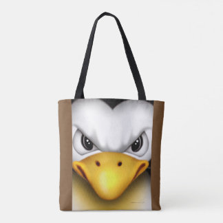 MAD PINGOUIN  All-Over-Print Tote Bag MEDIUM