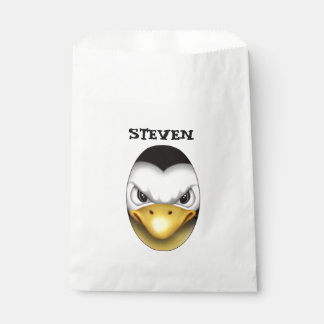 MAD PINGOUIN CARTOON  bag White Favor