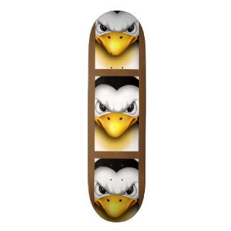 "MAD PINGOUIN CARTOON Skateboard 8½"""