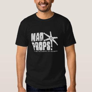 Mad Props Logo Black T-Shirt