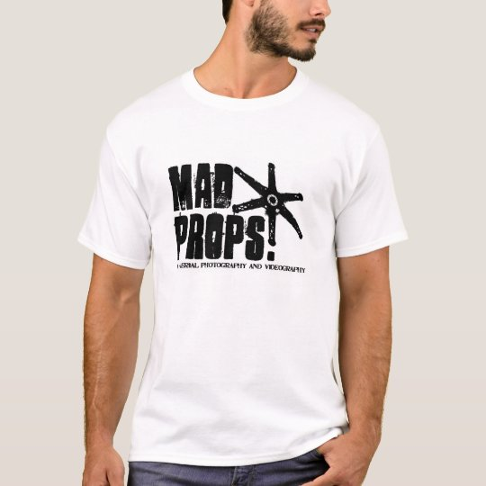 Mad Props Logo T-Shirt White