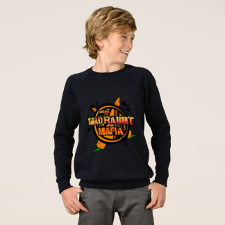 Mad Rabbit Kids' American Sweatshirt, Black Sweatshirt