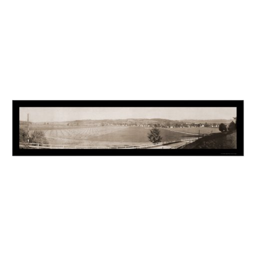 Mad River Valley Ohio Photo 1913 Poster