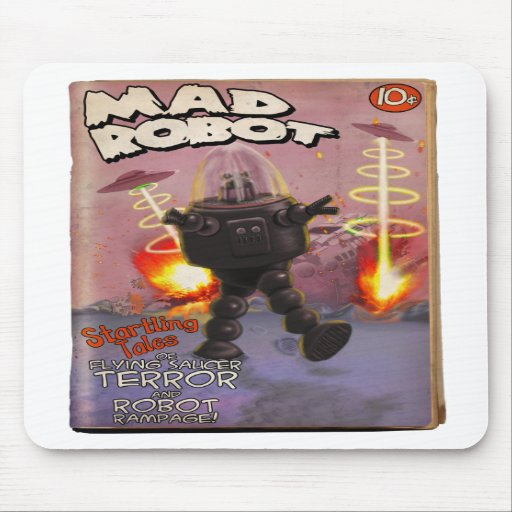 Mad Robot Pulp Cover Mousepad