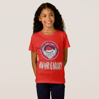 Mad Santa Now Who Is T-Shirt