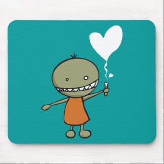 Mad Science Love Mouse Mat