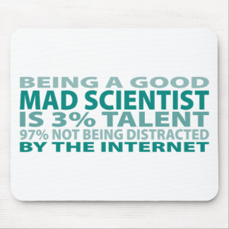 Mad Scientist 3 Talent Mouse Pads