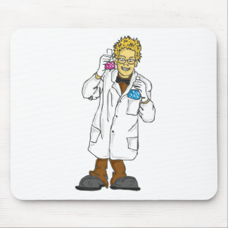 Mad scientist 5 mouse pad