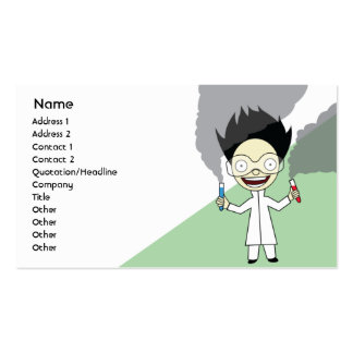 Mad Scientist - Business Business Card Templates