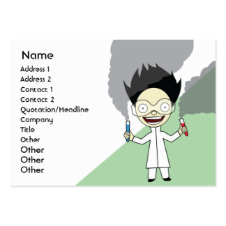 Mad Scientist - Chubby Pack Of Chubby Business Cards