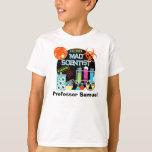 Mad Scientist Customised T-shirt