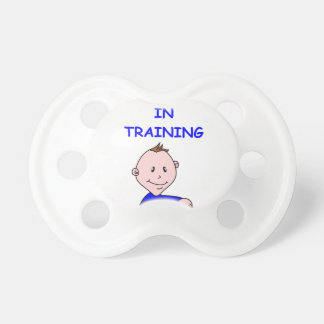 mad scientist baby pacifier
