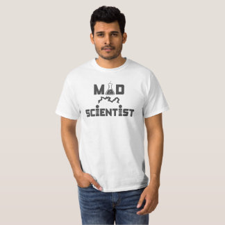 Mad Scientist Electric Science Beaker T-Shirt