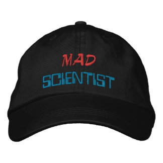 Mad Scientist Embroidered Hat