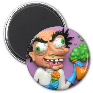Mad Scientist Fridge Magnet