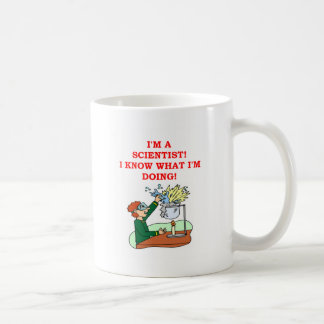 mad scientist joke coffee mug