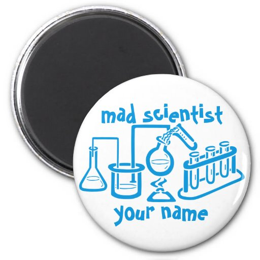 Mad Scientist Magnets