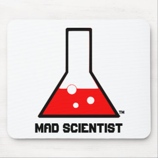 Mad Scientist Mouse Pad