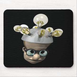 Mad Scientist Mouse Pads