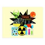 Mad  Scientist Post Card