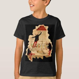Mad Scientist Skeletons T-Shirt