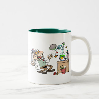 Mad Scientist Two-Tone Coffee Mug