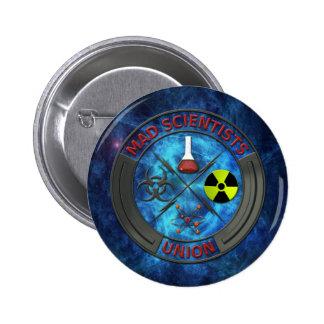 Mad Scientist Union 6 Cm Round Badge