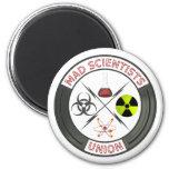 Mad Scientist Union 6 Cm Round Magnet