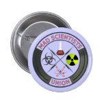 Mad Scientist Union Button