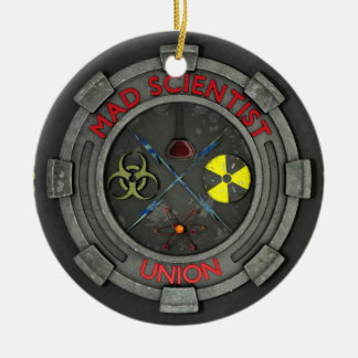 Mad Scientist Union Christmas Ornament