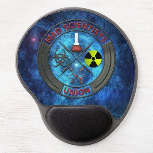 Mad Scientist Union Gel Mousepads