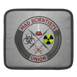 Mad Scientist Union iPad Sleeve