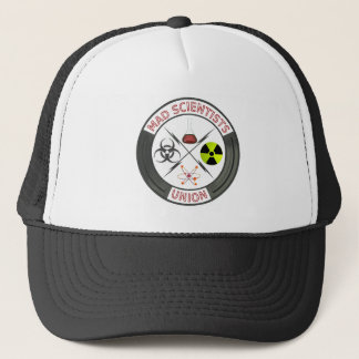 Mad Scientist Union Logo Trucker Hat