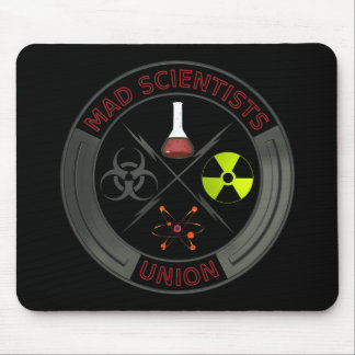 Mad Scientist Union Mouse Pad