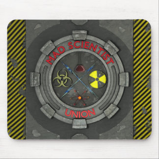 Mad Scientist Union Mouspad Mouse Pad