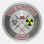 Mad Scientist Union Sticker