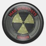 Mad Scientist Union Stickers