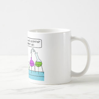 mad scientist when married me knew you coffee mug